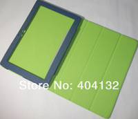 Wholesale(100PCS) Stand Protector S6000 Cover,Folding PU Cover Leather Case For Lenovo S6000 Case