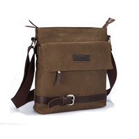 Free shipping 2014 Small bench new simple man shoulder bag leisure men messenger bag canvas female bags