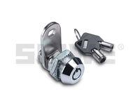 chrome plated zinc alloy cabinet tubular key lock