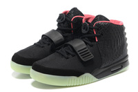 New Arrived 2013 Famouse kanye west Yeezy 2 Shoes Top Quality Men Athletic Basketball Shoes Trainers For Sale,white black