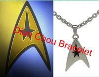 Freeshipping 2013 Hot sales a lot 20pcs Star trek necklace XJXZ04