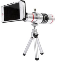 1PCS free shipping High quality  16x Camera Zoom optical Telescope telephoto Lens For iphone 5/5s