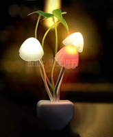 Creative night light mushroom lamp led energy saving lamp bed-lighting light control lamp baby lamp child light