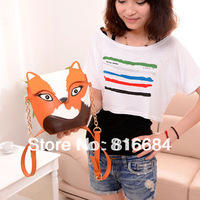Free shipping !! 1pcs / Lot  2013 Hot Sale Fashion Owl Bag PU Leather Women Handbags Cross Body Bag Messenger Bag Shoulder Bag