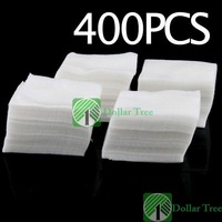 Free shipping: 400Pcs Nail Art Wipes Polish Acrylic Gel Tips Remove wholesale