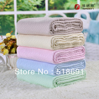 Bamboo fibre towel bamboo fibre single blanket double air conditioning bed sheets summer is cool towel blanket