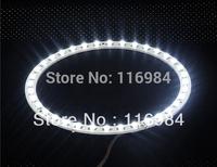 2PCS x White 160mm 3528 48-SMD Car Led Angel Eyes Halo Ring Light Car Light