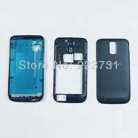 For Samsung Galaxy S2 T989 Parts Bezel frame + Middle housing + Back cover battery door housing case [5pcs/lot free shipping]