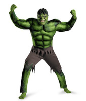2014 Hot Sale New Fantasia Infantil Disfraces Halloween Cosplay Costume for Child And Men The Incredible Hulk Full Set Fantasia