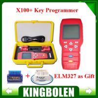 Free Shipping X-100+ X100 Plus Auto Key Programmer x100 programmer