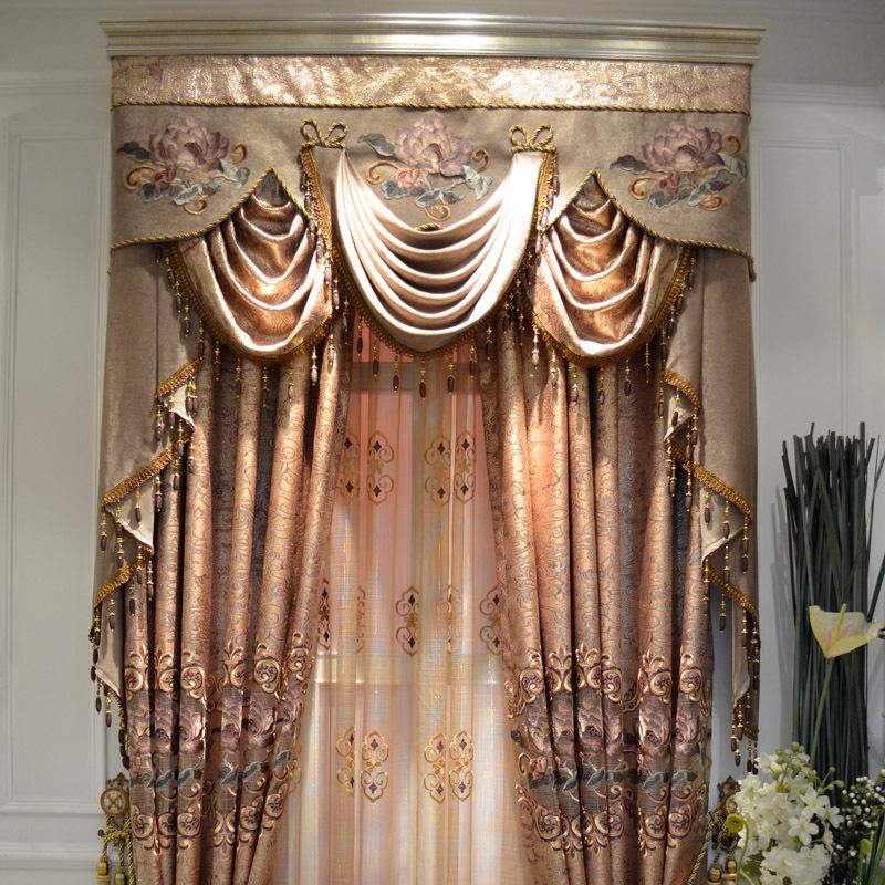 Fenster Helm Bad König : Online Kaufen Großhandel gold embroidery curtain aus China gold