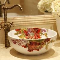 Jingdezhen ceramic art decorative bathroom basin sink