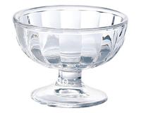 Fashion High Quality Ice cream cup glass Delicate ice cream cup dessert cup transparent ice cream bowl 190ml Freeshipping