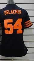Women  Brian Urlacher  54  American football Jersey,Cheap Sports Jersey,Embroidery logos,Mix order