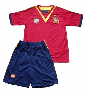 soccer uniforms kids 13 14 Spain kid's soccer Jerseys football jersey for kid