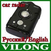NEW 2014  car radar Car Anti Radar Detector V8 upgrade version Russian/English Voice with LED display Free Shipping