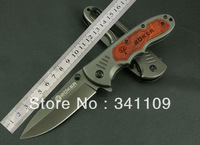Boker DA48 Folding Blade Knife Wood Handle Outdoor  Knife Camping Hunting Knife Free Shipping