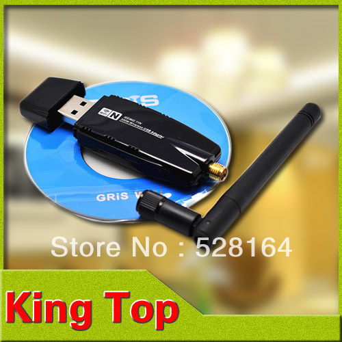 300Mbps 300M Wireless USB WiFi Wi Fi Wi-Fi Adapter With External Antenna Wholesale Free Drop Shipping#LW06-B(China (Mainland))