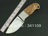 5pcs/lot BROWNING Knives Straight Knife  57HRC Hardness Outdoor Wood Handle Knife Mini Knife FREE SHIPPING