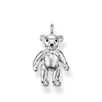free shipping hot selling hot charm 2013 tms silver factory price ts 2235S silver teddy bear smooth pendant