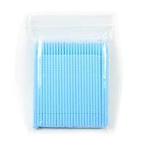 Free Shipping 200 pcs Disposable Eyelash eye lash Micro Brush Applicators for Eyelash Extension Removal #2.0mm