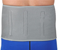 Free Shipping Magnetic Therapy Neoprene Back Support Lumbar Brace Waist Belt Therapeutic Magnets Trimmer Universal Grey+2pcs