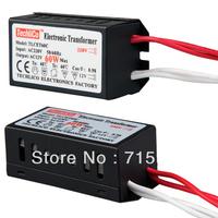 100piece/lot 60W Halogen Light Lamp Driver Power Supply Converter Electronic Transformer