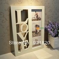2013 new  31x44cm 6 inch Fashion wool photo frame love birthday wedding gift wall hot-selling PF02