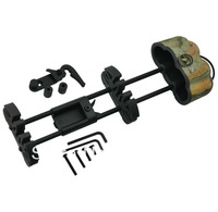 Free shipping Camouflage Archery arrow quiver carbon tube structure quick lock mounting bracket