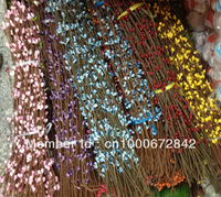 Free Shipping wholesale 40cm  DIY Beaded Decorative Artificial  Garlands For Christmas Holiday Decoration,100pcs/lot