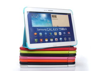 Galaxy Tab3 10.1 business book cover case For Samsung Galaxy Tab 3 10.1 P5200 P5210 Free Shipping and Drop Shipping