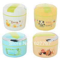 tableware /Child cartoon insulation boxes stainless steel liner pot double layer lunch box lunch boxes