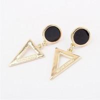 cxt95582 Triangle Drop Earrings Fashion Statement Jewelry