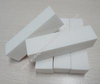 Free Shipping 5pcs per lot white block nail file