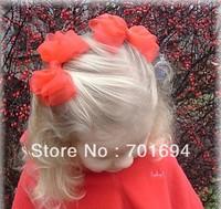 popular hair accessories, sweet bows, Ribbon braid hair accessories fashion hairbows hairclips