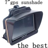 """Free shipping cheapest  7"""" 7inch Car Bracket  Gps navigator accessories sunshade sunshine shield  navigation Sun shade&sun cat"""