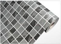 Free Shipping Waterproof Mosaic wall sticker PVC self-adhesive creative Mosaic tile wallpaper for kitchen/bathroom DPS-27
