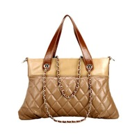 Soft Quilted Leather Ladies Bag Large PU Handbag women 2013
