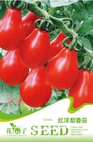 Seeds red pear tomato 20 seeds c091 indoor bonsai flower plant