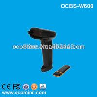 OCBS-W600 Black USB Port Wireless Laser Barcode Scanner