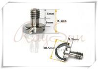 "1/4"" D-Ring Camera Screws for DSLR Camera Tripod Quick Release Plate - 5PCS"