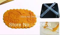 Factory Wholesale 10 PCS Cute Bear Baby Shape  Embossing Rolling Pins sugar craft tools Fondant Cake Decoration  A191