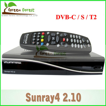 Satellite TV Receiver Sunray 800 se sr4 Rev D6 Sunray SR4 800SE with Triple tuner DVB S(S2)/C/T/T2 Enigma2 WIFI