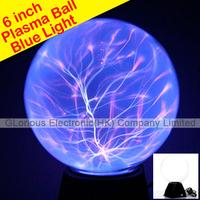 6 inch Wholesale Plasma Ball Sphere Lightning Lamp Free Shipping