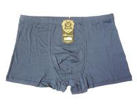Free Shipping 15pcs/lot High Quality Bamboo Fiber Boxer Men Underwear Male Flat Feet Panties XL-4XL.
