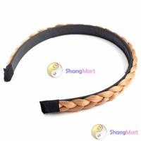 Free shipping: Hot Lady Girl Hair Head Hoop Band Rope Headband Braid wholesale