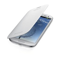 Free Shipping Samsung Flip Cover Case for Samsung Galaxy S3 ( Marble White)+Free screen protector