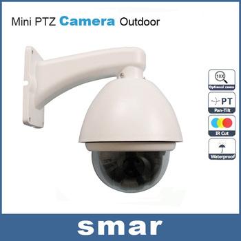 Security Home Sony CCD 480TVL 700TVL 10X Optical Zoom 360 Degree Continuous Patrol PTZ Mini Speed Dome Camera Free Shipping