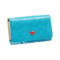 Envelope Card Wallet Leather Purse Case Cover For Samsung I9100  9300 9500 S7562,for iphone 4/4s 5 for MTK6575 i9220