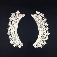 The new water-soluble flower cotton lace collar, Fashion Clothing Accessories Decorative DIY Collar